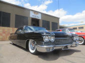 1960 Cadillac Convertible Black Air Ride Suspension Copperstate Classic Cars