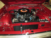 1967 Plymouth Sport Fury 383 engine compartment Convertible For Sale by Copperstate Classic Cars