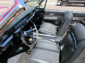 1967 Plymouth Sport Fury Convertible black bucket seat console For Sale by Copperstate Classic Cars