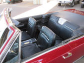 1967 Plymouth Sport Fury Convertible interior bucket seat console For Sale by Copperstate Classic Cars