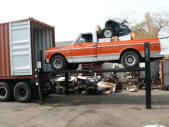Chevy Truck and Quad Container Loading Malefors International