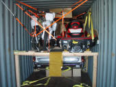 Licoln Continental Dirtbikes Jetski Container Loading Malefors International