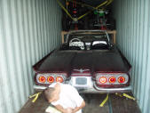 1960 Ford Thunderbird Convertible Quads Frank Malefors Container Loading Malefors International