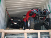 3 Quads of a 1965 Buick LeSabre Container Loading Malefors International