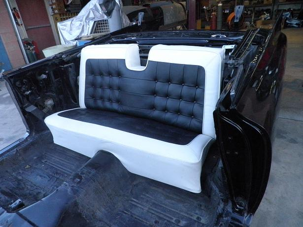 What To Do With Old Car Seats >> Classic Car Upholstery