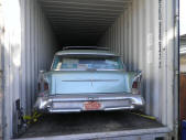 1958 Oldsmobile Wagon Container Loading Malefors International