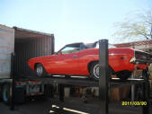 1970 Challenger 426 Hemi Convertible Container Loading Malefors International
