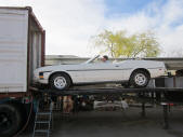 1973 Ford Mustang Convertible Container Loading Malefors International